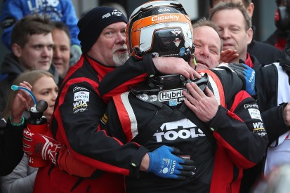 Donington Park BTCC: Adam Morgan wins finale for Ciceley Mercedes