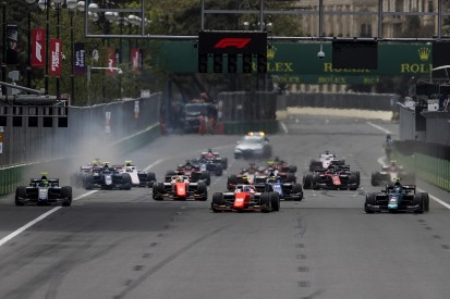 Formula 2 testing clutch fixes this week after race start problems