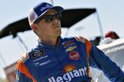 NASCAR Xfinity racer Gallagher banned for substance abuse violation