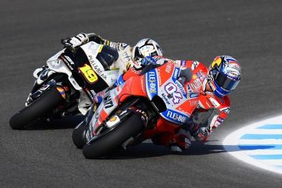 MotoGP Jerez: Dovizioso shades Marquez to top opening practice