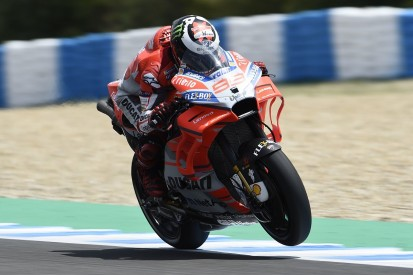 MotoGP Jerez: new Ducati parts bring Lorenzo 'a bit of happiness'