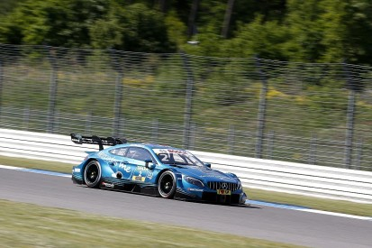 DTM Hockenheim: Mercedes's Paffett takes race one pole, Wittmann P2