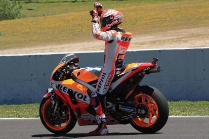 MotoGP Jerez: Marquez wins, Pedrosa and Ducatis suffer big crash