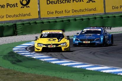 DTM Hockenheim: Glock wins race two after scrap with Paffett