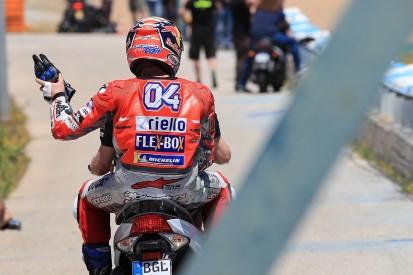 MotoGP Jerez: Dovizioso blames Lorenzo, Pedrosa for causing crash