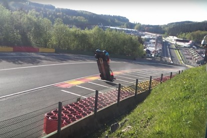 New footage shows Isaakyan's dramatic LMP1 WEC crash at Spa