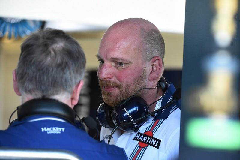 Williams F1 chief designer Ed Wood leaves team