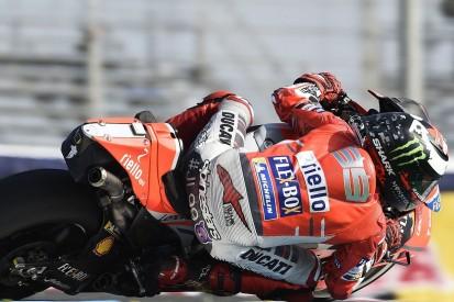 Jorge Lorenzo trials new Ducati MotoGP chassis at Mugello test