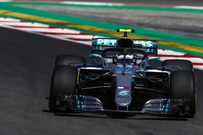 Spanish GP F1 practice: Valtteri Bottas leads Mercedes 1-2 in FP1