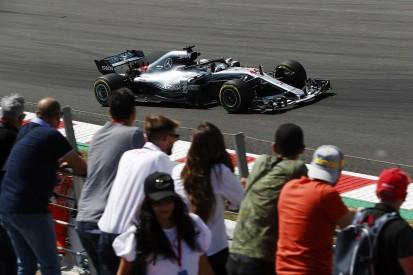 Spanish GP F1 practice: Lewis Hamilton leads Red Bulls in FP2