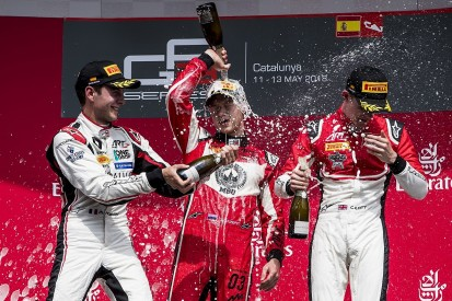 GP3 Barcelona: Force India's Mazepin leads ART 1-2-3 to debut win