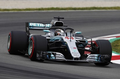 Spanish GP F1 practice: Lewis Hamilton leads Mercedes 1-2 in FP3
