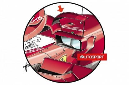 FIA tells Ferrari it can't run halo mirror winglets after Spanish GP