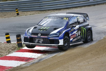 World RX Mettet: Solberg stays ahead on day one despite damage