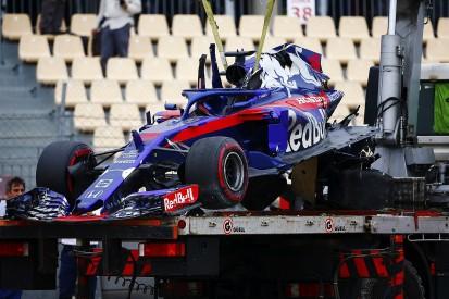 Formula 1: Spanish GP practice crash one of my biggest - Hartley