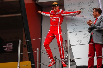 GP3 Barcelona: Ferrari F1 junior Alesi wins wet sprint race