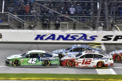 NASCAR Kansas: Cup clash with Larson 'definitely' my fault - Blaney