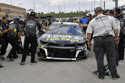 NASCAR getting frustrated at teams' technical inspection failures