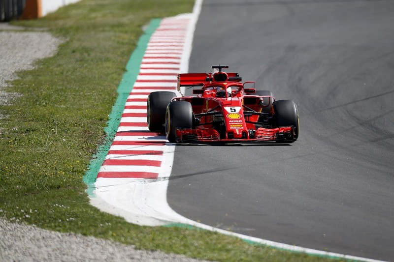 Vettel: Usual tyres in Spain would've been 'even worse' for Ferrari