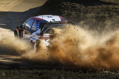 Toyota WRC team suffers early 'disaster' on Rally of Portugal