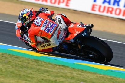 MotoGP Le Mans: Ducati's Andrea Dovizioso tops FP2 with record lap