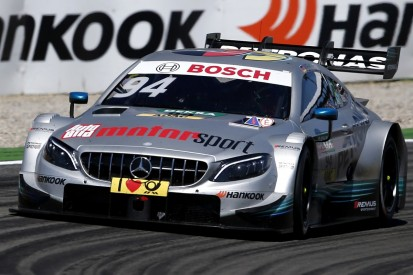 DTM Lausitzring: Mercedes returnee Wehrlein leads opening practice