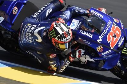 MotoGP Le Mans: Vinales tops first session for nine months in FP3
