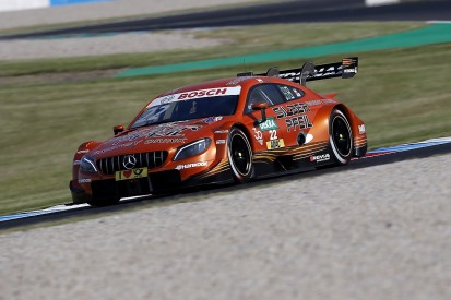 DTM Lausitzring: Mercedes' Auer denies BMW rookie Eng race one pole