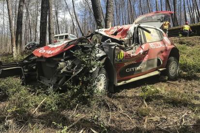 WRC Rally Portugal: Meeke apologises to Citroen for Saturday crash