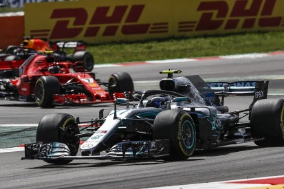 Valtteri Bottas has eliminated 'way off the pace races' in F1 2018