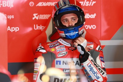 Dovizioso: Crash from lead of French MotoGP race 'unacceptable'