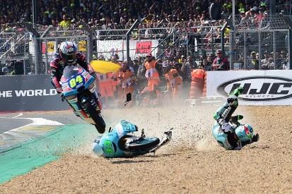 Moto3 rider Kornfeil describes 'motocross jump' Le Mans crash save