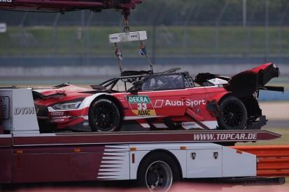 Audi, Rast hail DTM safety measures after major Lausitzring crash