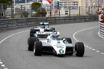 Keke and Nico Rosberg complete Monaco demo run in F1 title cars