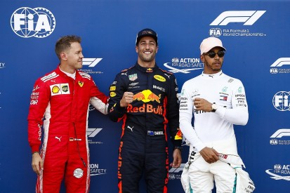 Vettel, Hamilton knew Ricciardo would get pole before qualifying