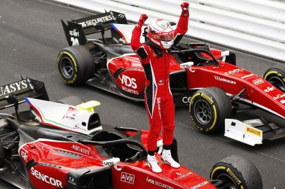 F2 Monaco: Fuoco resists Norris to win attritional second race