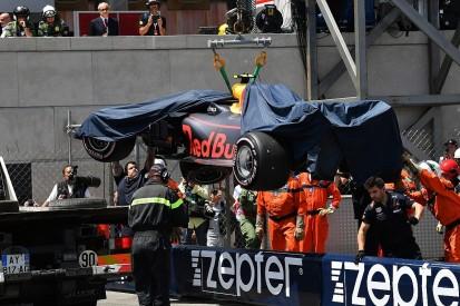 "Verstappen says Monaco GP was looking ""very easy"" before crash"