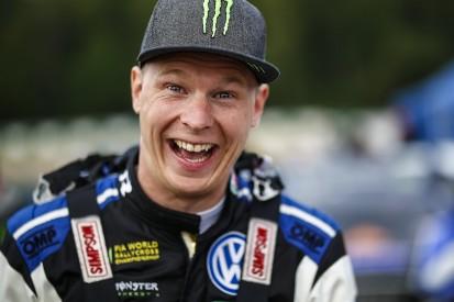 Silverstone World Rallycross: Johan Kristoffersson surges on Sunday