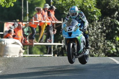 Isle of Man TT: Harrison beats 17-minute mark on practice day two