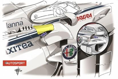 Sauber's Monaco GP-led F1 2018 technical update explained
