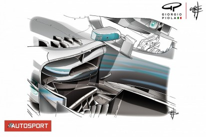 The F1 tech solutions Mercedes used to attack its Monaco weakness