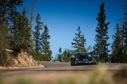 Dumas completes Volkswagen's first Pikes Peak run with electric car