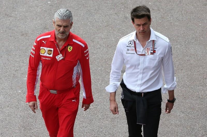 Mercedes warns against 'double spending' on F1 engine development