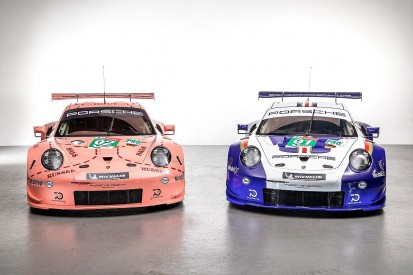 Porsche to run retro Rothmans and 'Pink Pig' liveries at Le Mans
