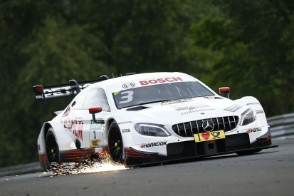 DTM Hungaroring: Di Resta takes pole after Auer mistake
