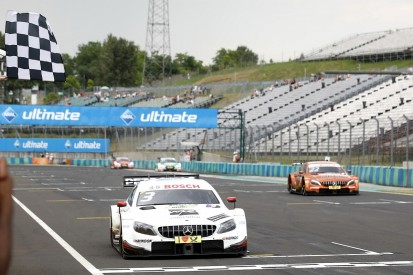 DTM Hungaroring: Di Resta opens 2018 account with race one victory
