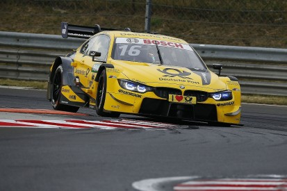 DTM Hungaroring: BMW feels hotter weather led to disastrous result