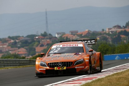 DTM Hungaroring: Auer pips Wehrlein to pole as Mercedes dominates