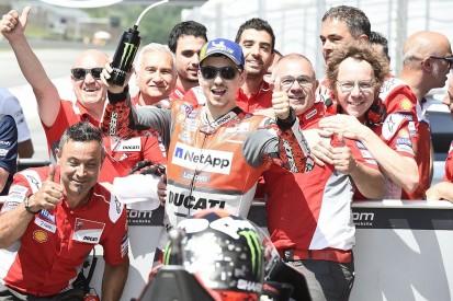 MotoGP Mugello: Lorenzo takes first Ducati win as Marquez crashes