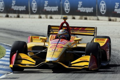 IndyCar Detroit: Hunter-Reay takes first victory since 2015